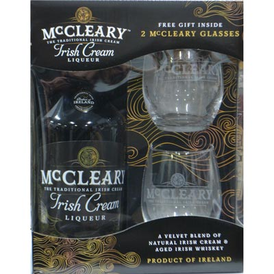 McCleary Irish Cream Gift Set