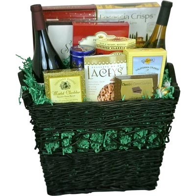 Vintner's Wine Basket