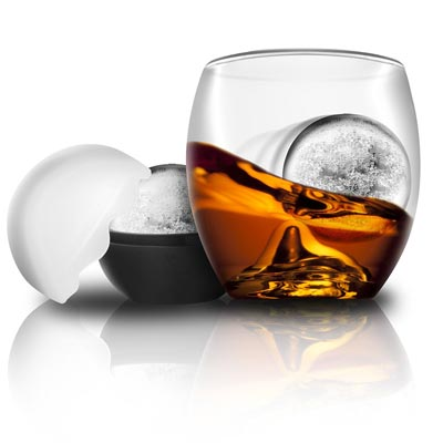 On The Rocks Glass   Ice Ball Mold