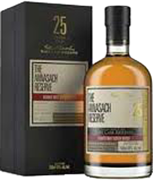 The Annasach Reserve 25 year old Blended Malt Binny's Select William Grant