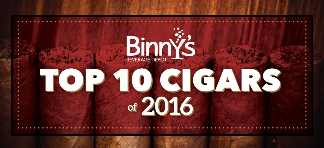 Binny's Top 10 Cigars of 2016