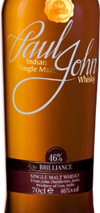 Paul John Brilliance Non Peated Indian Single Malt