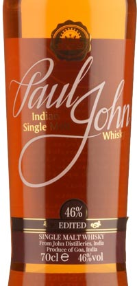 Paul John Edited Hint of Peat Indian Single Malt
