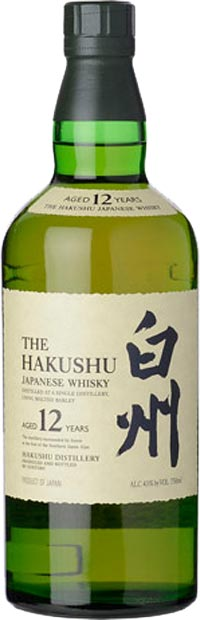 Suntory Hakushu 12 Year Old Peated Single Malt Whisky