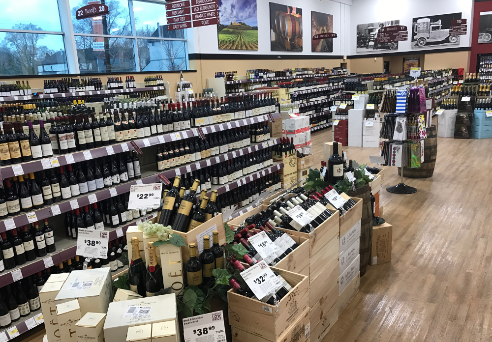 Binny's Wine Department Hyde Park