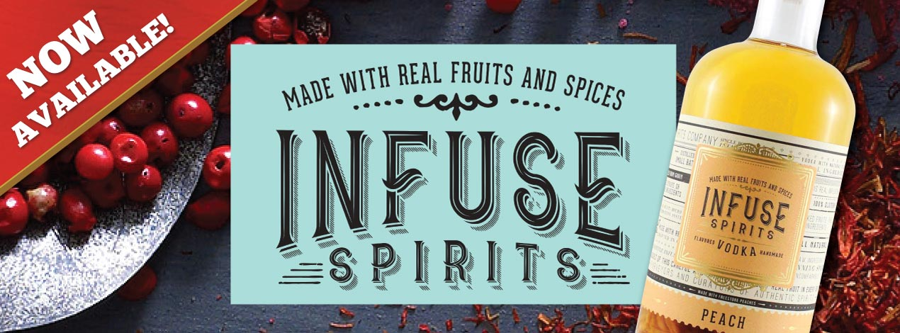 Introducing Infuse Spirits Vodkas
