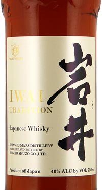 Mars Whisky Iwai Tradition