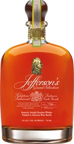 Jefferson's Grand Selection Kentucky Straight Bourbon Finished in Chateau Suduiraut Sauternes Casks