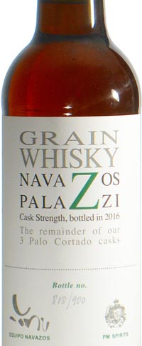 Navazos-Palazzi Single Grain Spanish Whisky Aged in Palo Cortado Cask