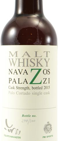 Navazos-Palazzi Spanish Single Malt Aged in Palo Cortado Cask