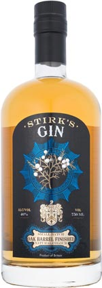 Stirks Small Batch Gin Oak Barrel Finished