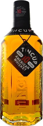 Tin Cup American Whiskey Aged 10 years