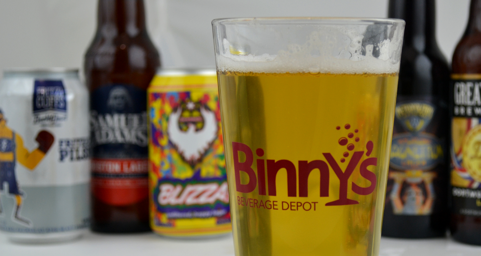 National Lager Day Binny's