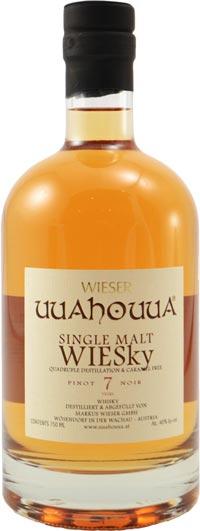 Wieser Wachau 7 year old Single Malt aged in Pinot Noir Barrel